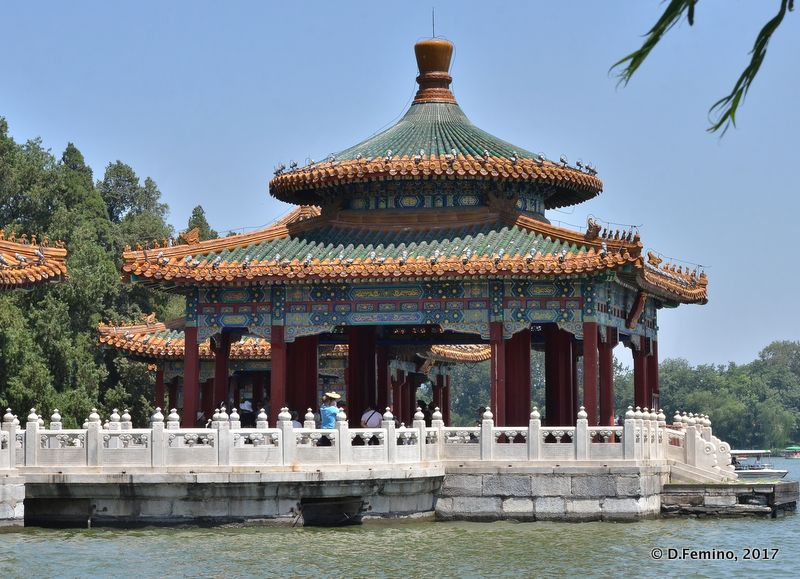 One out of five Dragon Pavilions (Beijing, China, 2017)