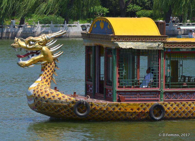 Dragon head boat (Beijing, China, 2017)