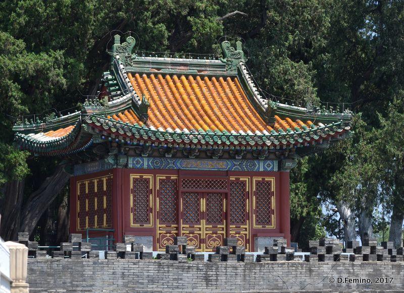 Square pavilion (Beijing, China, 2017)