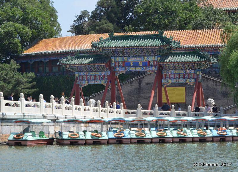 Gate in round city (Beijing, China, 2017)