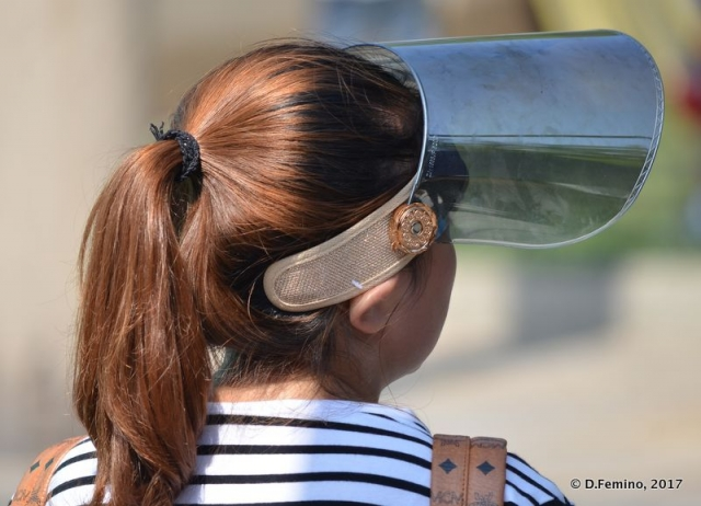 That's a visor (Beijing, China, 2017)