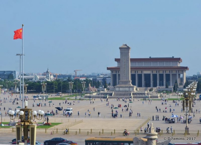 View of Tiananmen square (Beijing, China, 2017)
