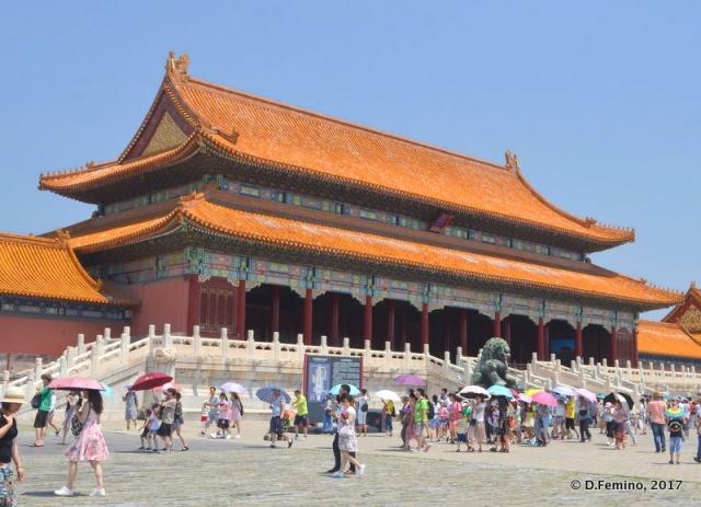 Hall of supreme harmony (Beijing, China, 2017)