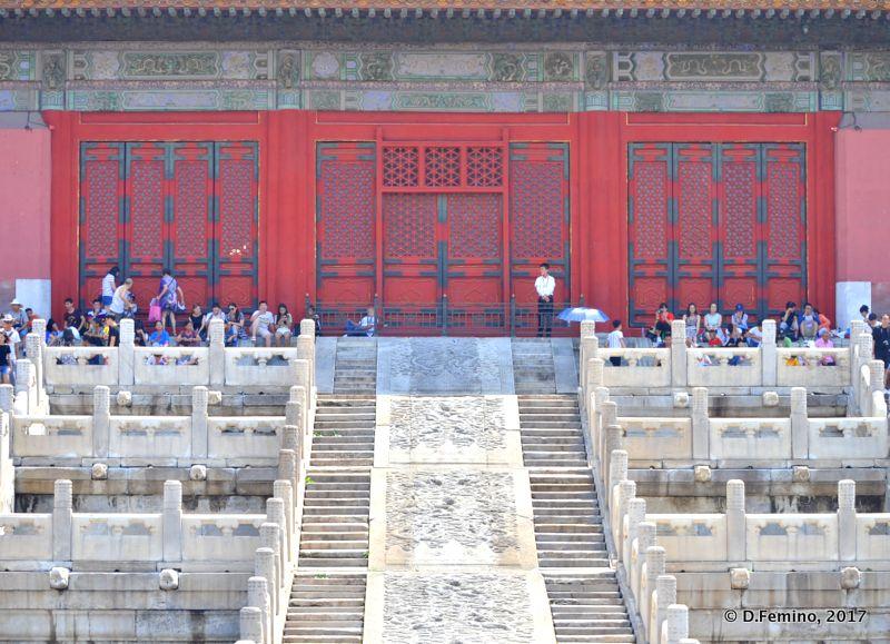 Palace of tranquil longevity (Beijing, China, 2017)