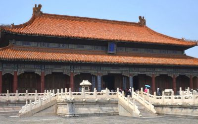 Heavenly purity palace in forbidden city