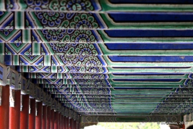 Roof in the long corridor (Beijing, China, 2017)