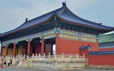 Imperial Hall in temple of Heaven park
