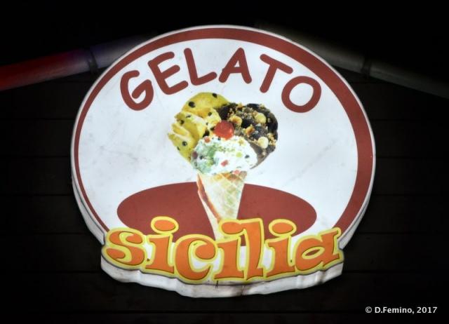 Sicilian ice-cream (Beijing, China, 2017)