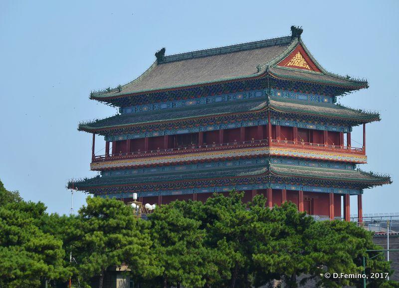 Zhengyangmen Gate Tower (Beijing, China, 2017)