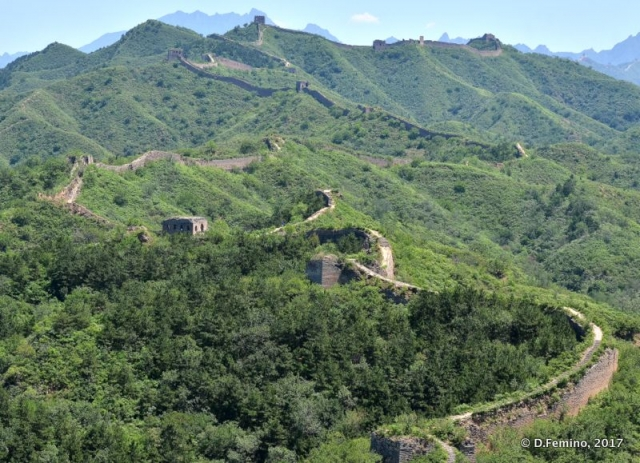 An obstructed view of Chinese walls (China, 2017)