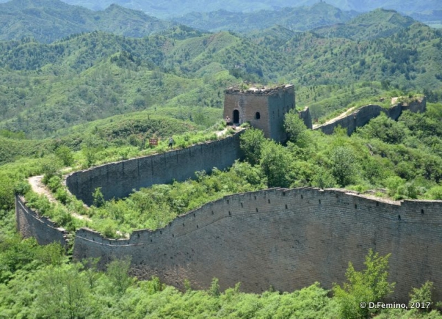 A curve in the Chinese Walls (China, 2017)