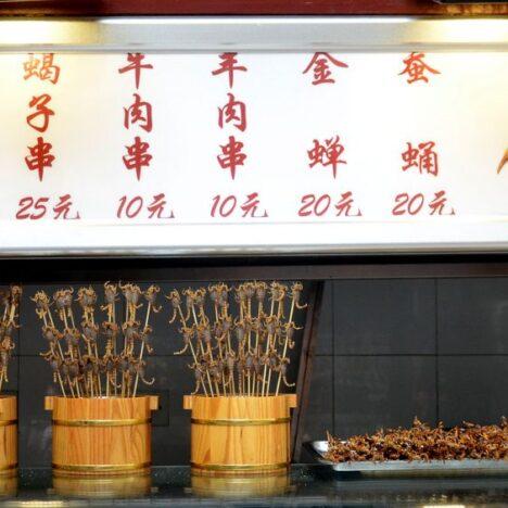 Food in Beijing: Duck or Scorpions?