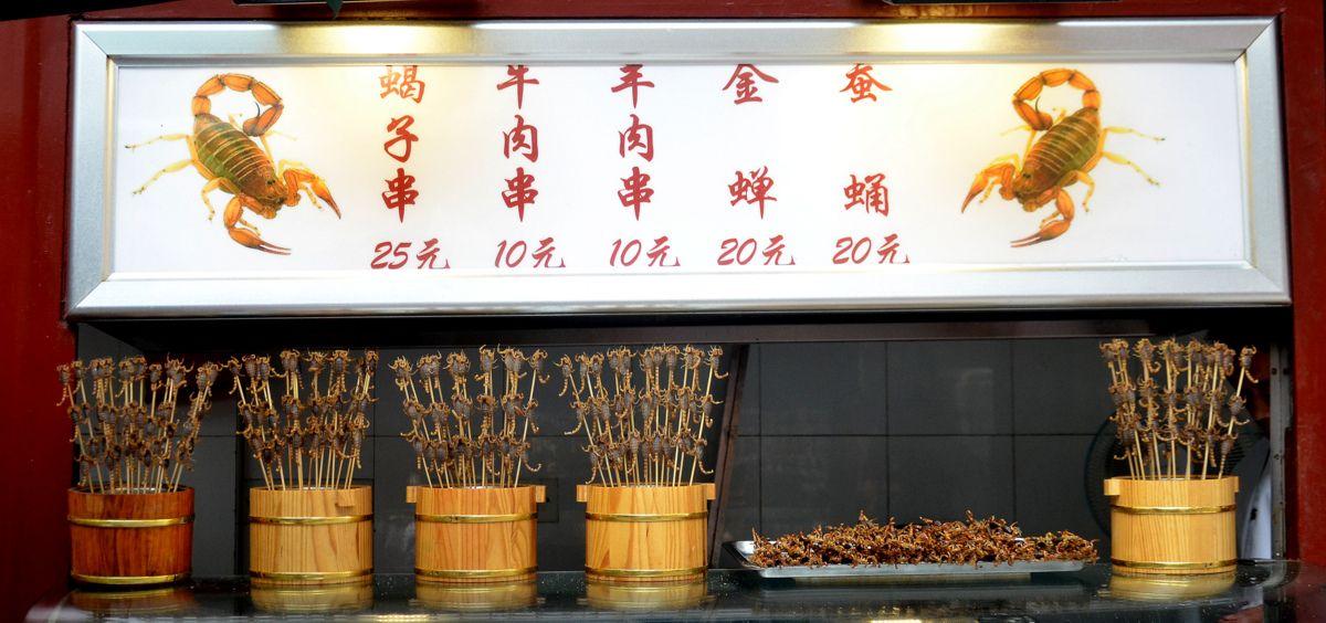 Wangfujing market photos