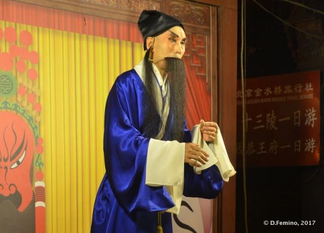 Traditional show in Wangfujing (Beijing, China, 2017)