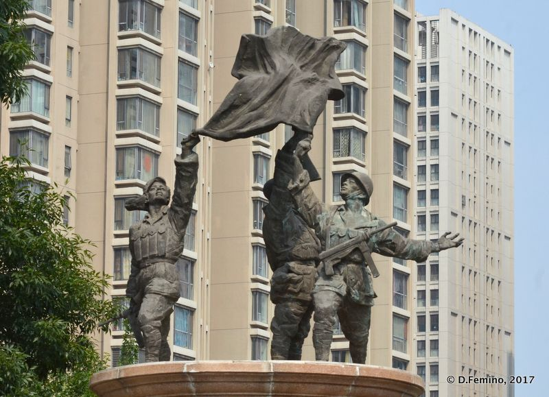 Communist monument (Tianjin, China, 2017)