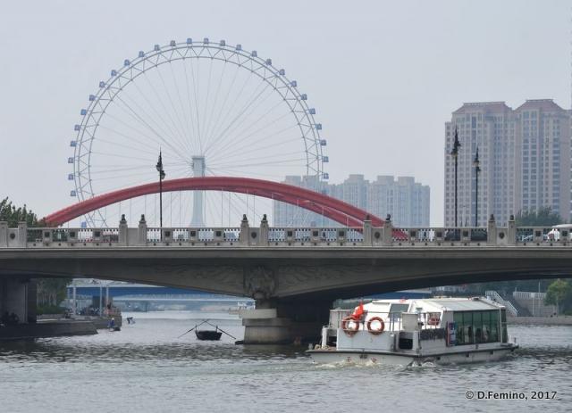 Tianjin eye (Tianjin, China, 2017)