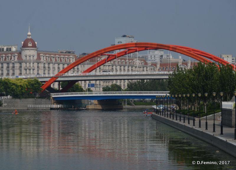 Jingang bridge (Tianjin, China, 2017)
