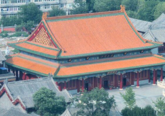 Dabei temple in Tianjin