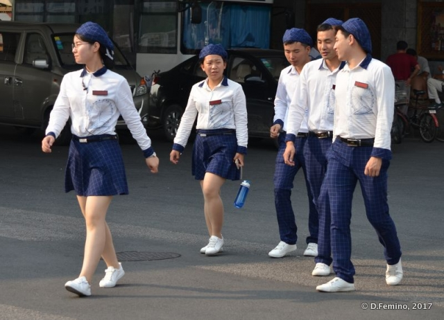 Tianjin Eye's crew (Tianjin, China, 2017)