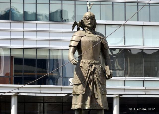 Marco Polo statue (Ulaanbaatar, Mongolia, 2017)