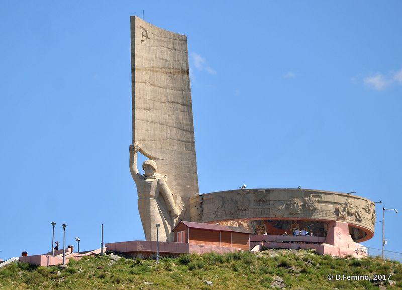 Zaisan memorial (Ulaanbaatar, Mongolia, 2017)