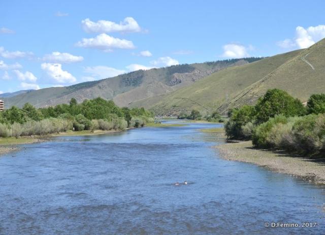 River Tuul (Ulaanbaatar, Mongolia, 2017)