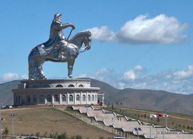 Gengis Khan monument (Terelj Park, Mongolia, 2017)