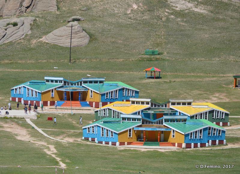 Colourful village (Terelj Park, Mongolia, 2017)