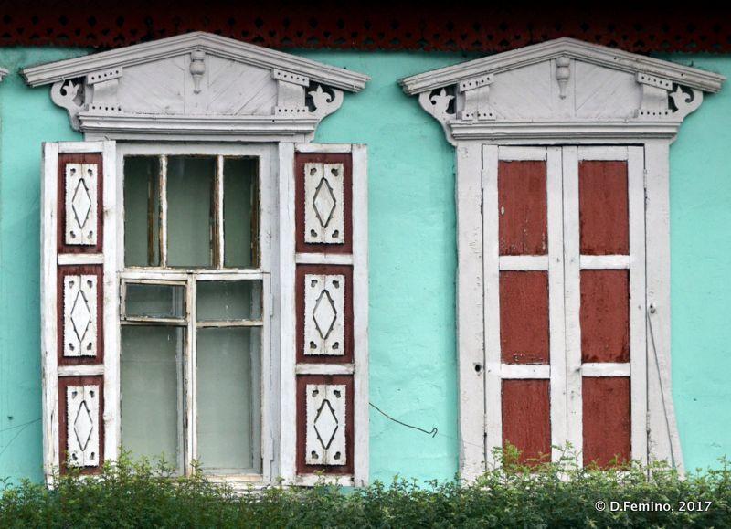 Siberian style windows (Ulaanbaatar, Mongolia, 2017)