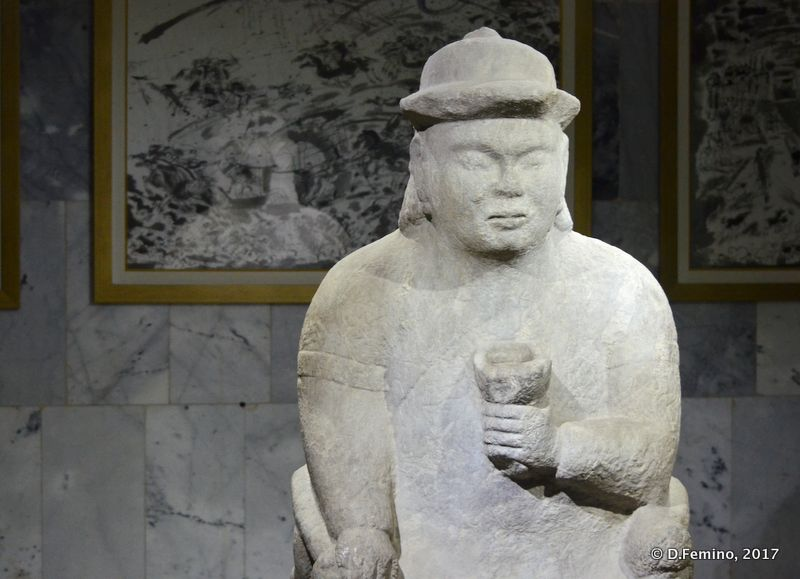 Statue in History Museum (Ulaanbaatar, Mongolia, 2017)