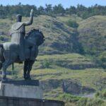 King Vakhtang I Gorgasali Statue in Tbilisi