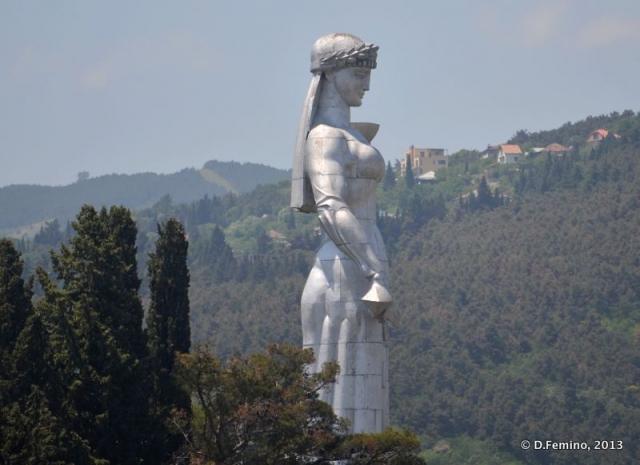 Kartlis deda statue (Tbilisi, Georgia, 2013)