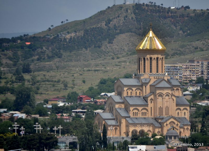 Holy trinity Cathedral (Tbilisi, Georgia, 2013)