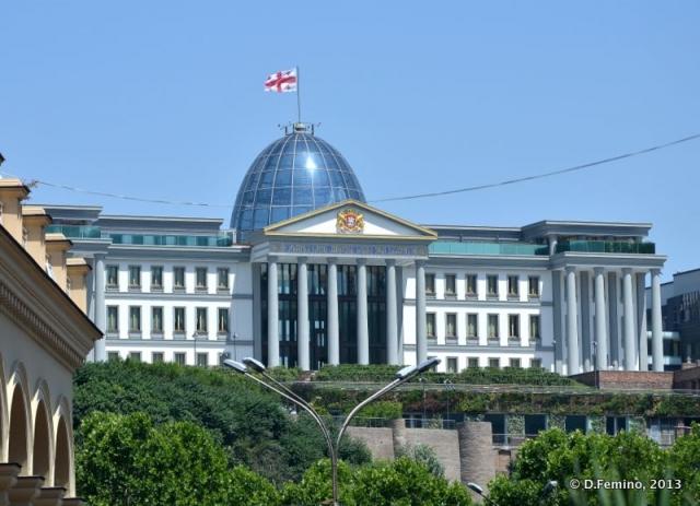 Presidential palace (Tbilisi, Georgia, 2013)
