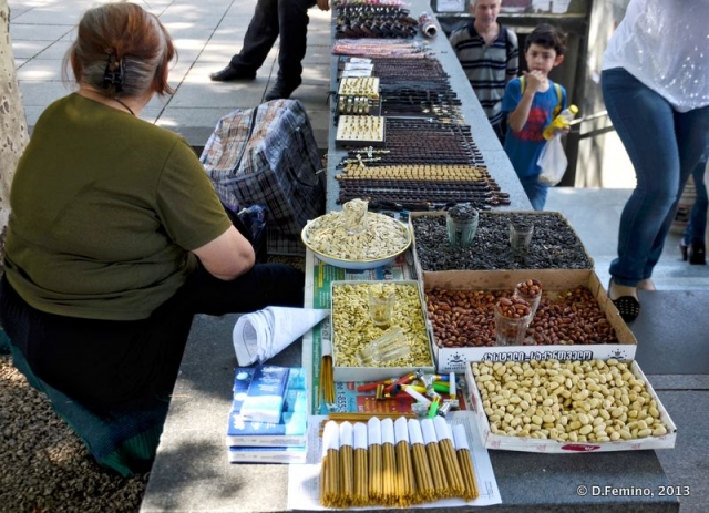 Open-air market (Tbilisi, Georgia, 2013)
