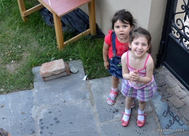 Children smiling at me (Tbilisi, Georgia, 2013)