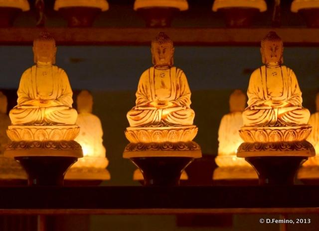 Shining Buddhas (Yungang Grottoes, China, 2017)