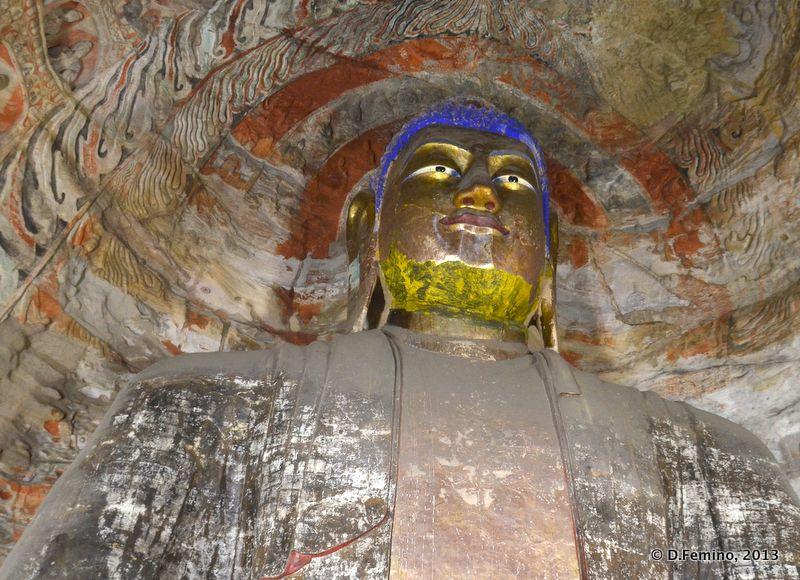 Under the Buddha (Yungang Grottoes, China, 2017)