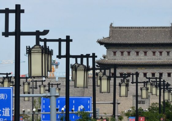 Old town gate in Datong