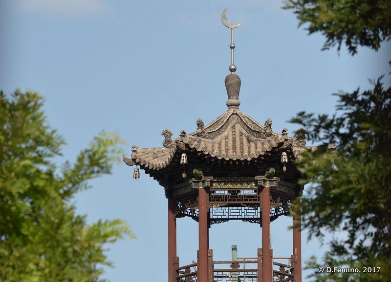 Chinese style minaret (Datong, China, 2017)