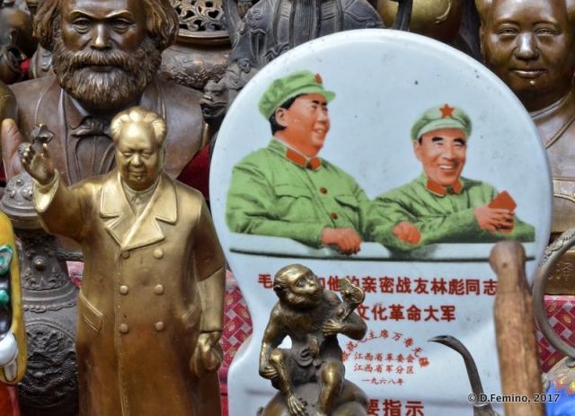 Communist souvenirs (Pingyao, China, 2017)
