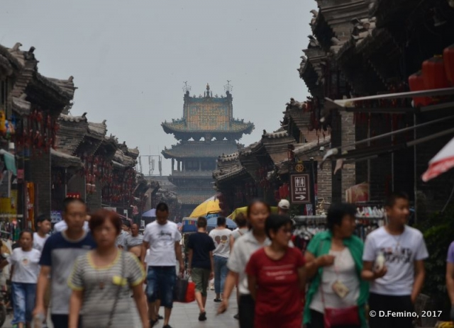Main street in the old town (Pingyao, China, 2017)