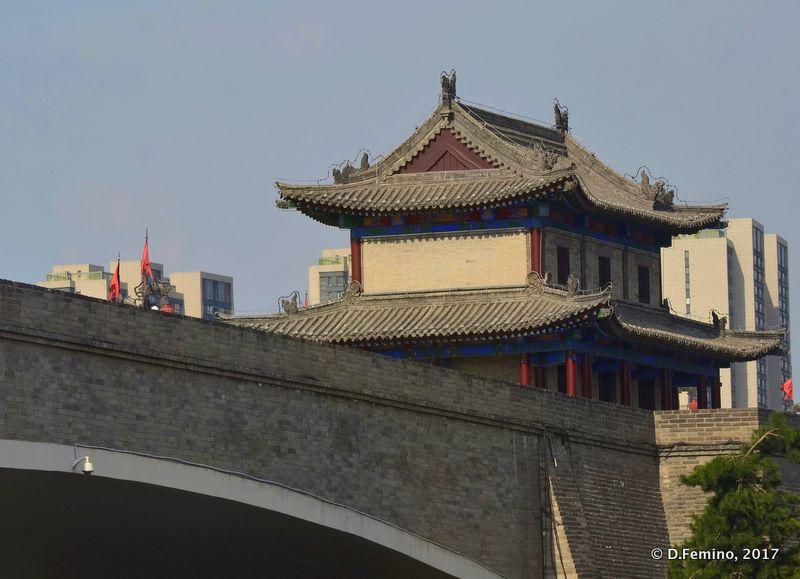 City walls (Xi'an, China, 2017)
