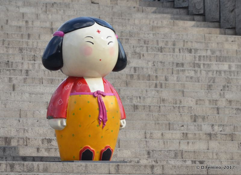 Big doll (Xi'an, China, 2017)