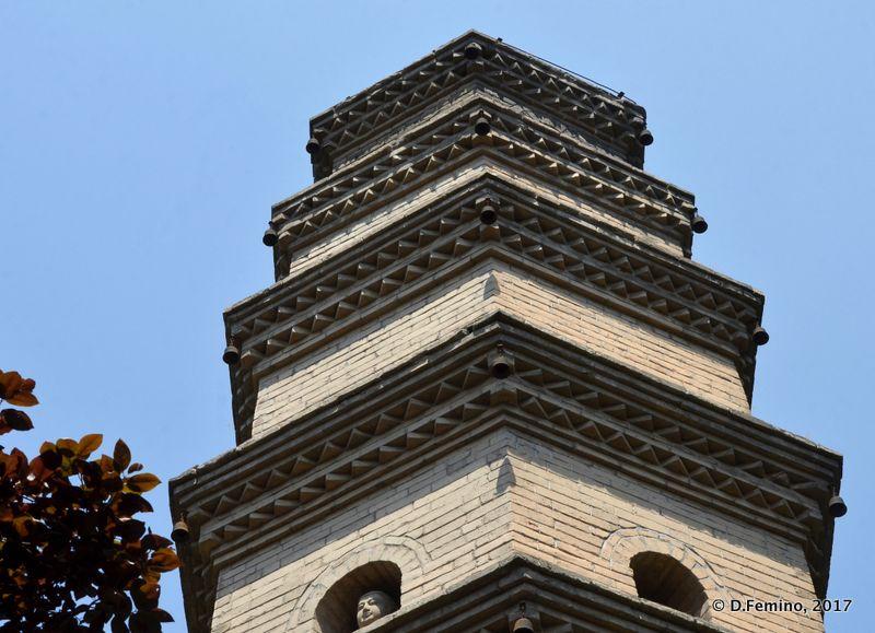 Pagoda near the north gate (Xi'an, China, 2017)
