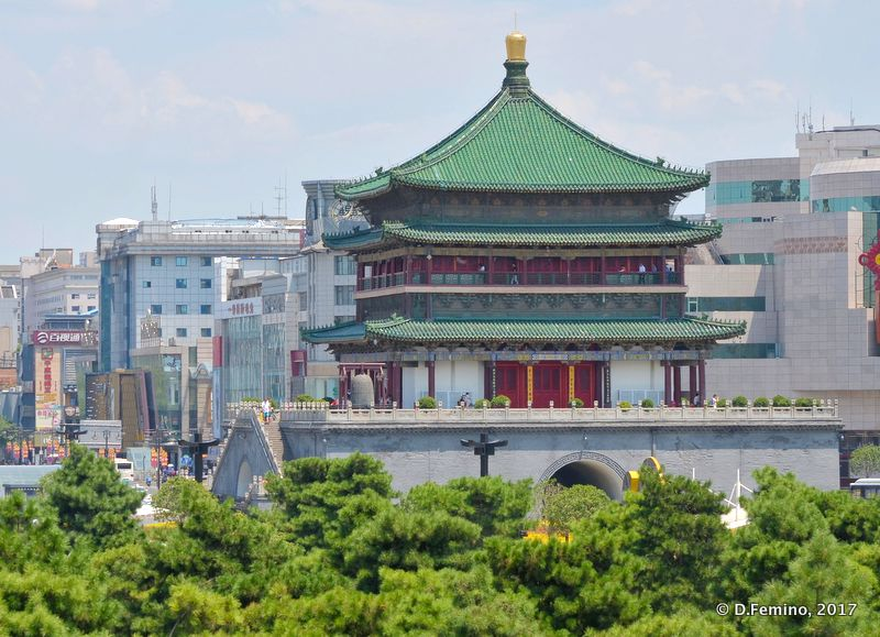 Drum tower (Xi'an, China, 2017)