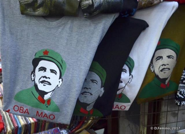 Oba-mao t-shirts (Xi'an, China, 2017)
