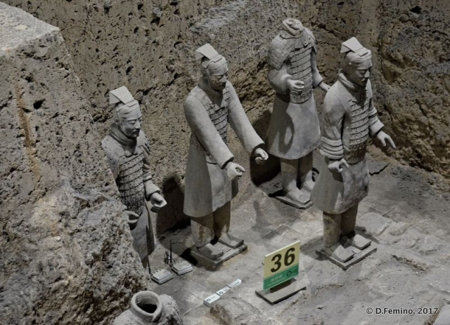 Warriors Statues (Xian, China, 2017)