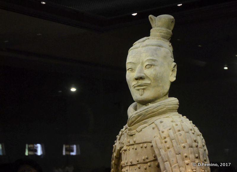 Warrior portrait (Xian, China, 2017)