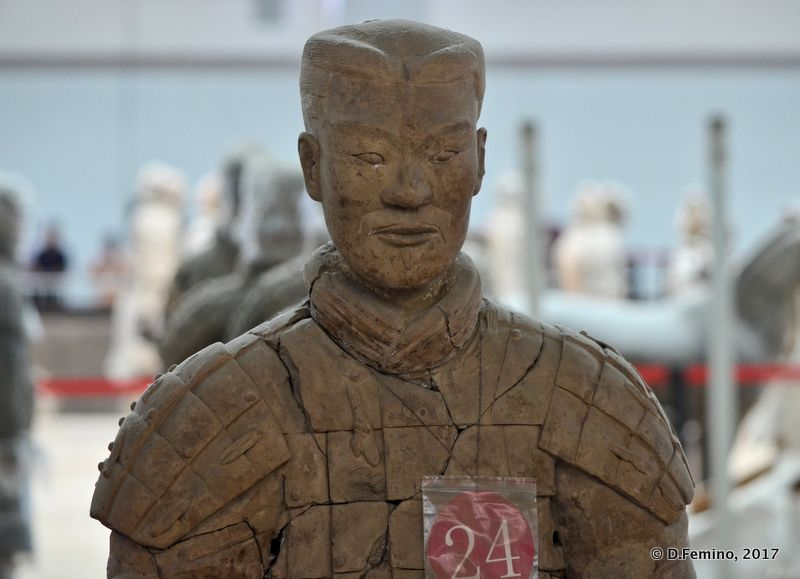 Warrior #24? I don't think so... (Xian, China, 2017)